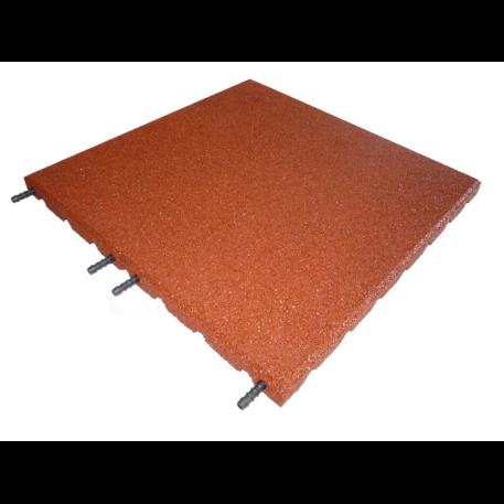 rustic red 30mm rubberflex